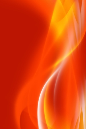 Ghosty Burn Background. Fire Like Misty Vertical Background. Simple and Very Elegant. Hot Background! photo