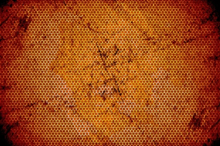 Burned Out Meshy Metal Background. Old and Dirty Burned Metal Texture. Stock Photo - 10654733