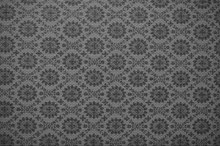 meshy: Mesh Floral Pattern - Floral Metal Background-Texture.