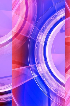 pinky: Pinky Glassy Abstract Background. Vertical 3D Render Background Illustration. Stock Photo