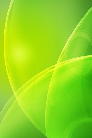 Glassy Fond Vert élégant verticale. Refroidir jaune kiwi couleur.