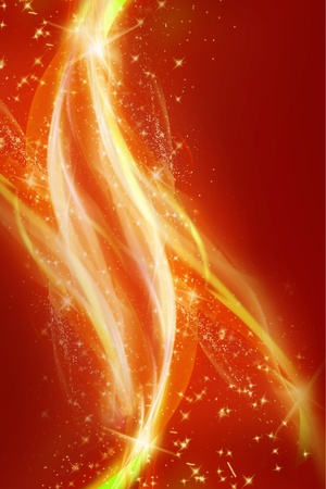 Red Sparks and Smoke Abstract Background. Abstract Backgrounds Collection.