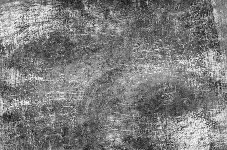 scratches: Grunge Dirty Texture. Grayscale Damaged Dirty Metal Texture with Many Scratches. Stock Photo