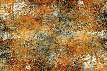 High Resolution Corroded Metal Texture / Background. Damaged and Scratched Metal Background. Stock Photo - 10654732