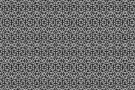 Retro-Vintage Pattern. Vintage Wallpaper Background. Grayscale Stock Photo - 10724690