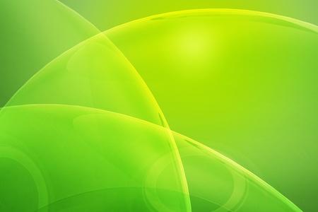 Glassy Green Cool Horizontal Background. Yellow-Kiwi Colors. Shiny Rays. photo