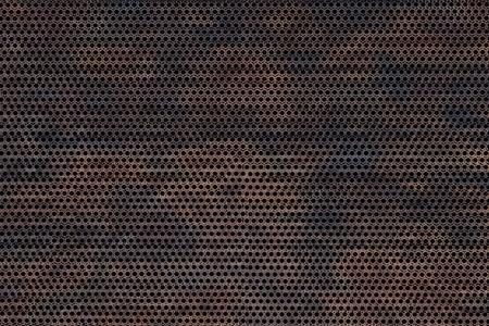 Antecedentes de metal corroído. Meshy Antiguo fondo sucio metal corroído - Textura. Render Textura Foto de archivo - 10724681