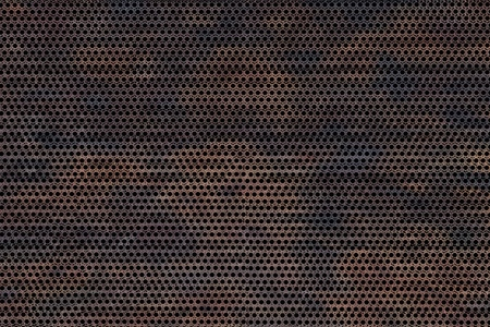 Corroded Metal Background. Meshy Old Dirty Corroded Metal Background - Texture. Render Texture 版權商用圖片