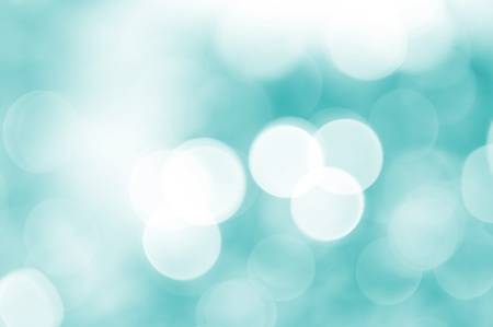 Baby Blue Background. Baby Blue Light Bokeh Background. 스톡 콘텐츠