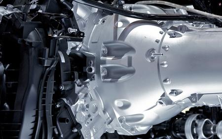 transfers: Automatic Transmission Closeup - Modern Car Transmission Stock Photo