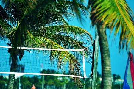 Beach Volley Ball Theme  Florida Beach Volley Ball Game Place