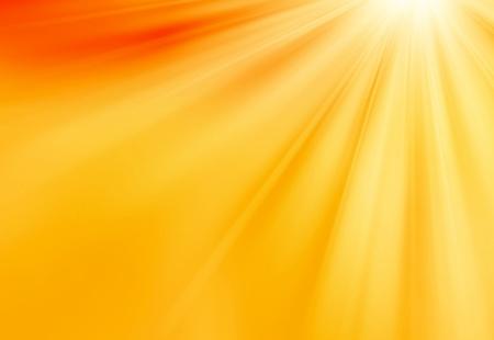 Oranje Sunlights Achtergrond Stockfoto