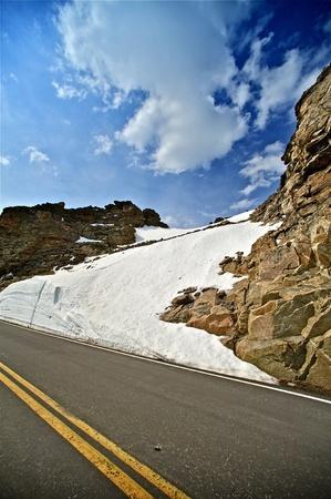 u s a: Colorado Summit County Roads  Rocky Mountains, U S A