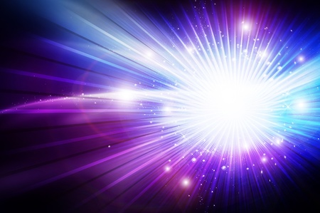 shine: Shiny Glowing Cool Background Design with White Glowing Copy Space or Your Logo Space. Fantasy Background Stock Photo