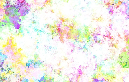 Paint Background, Colorful Paint Splashes   Paint Stains Abstract Background   photo