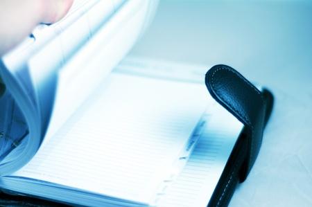 Browsing Note Book - Calendar   Scheduler  Horizontal Business Theme Photo