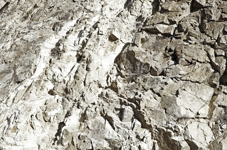 natural formation: Natural Rocky Wall Background  Rocky Texture  Natural Formation Stock Photo