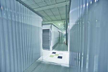 Storage Units. Storage Facility Interior.