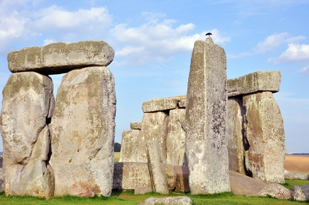 The Stonehenge - Iconic Stone Monument Was Constructed Anywhere From 3000 BC to 2000 BC. Part of the Stonehenge Horizontal Photography.