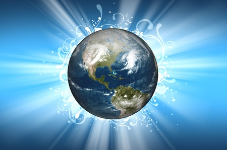 planet earth background design cool planet earth in the center