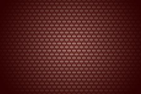 Burgundy-Maroon Retro Style Background. Vintage Floral Pattern with Dark Vignette. 版權商用圖片