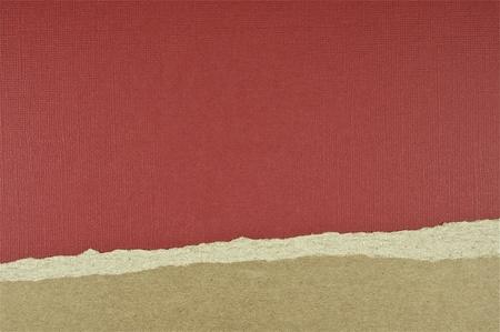 Burgundy Tear Deco Paper Background. Design Composition