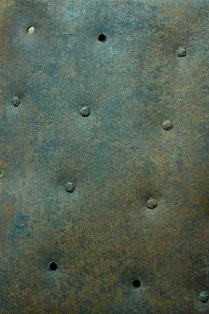 riveted: Riveted Old Vintage Metal Texture   Background