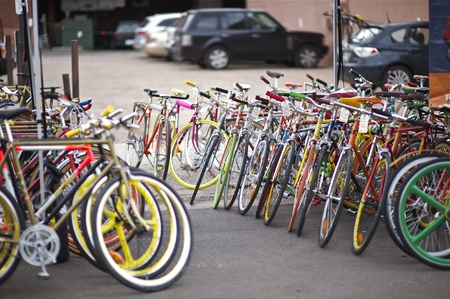 アスペン バイク販売のため米国コロラド州アスペン レトロ ビンテージ バイクします。