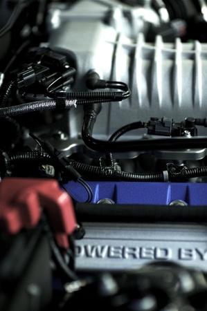Engine Powered By. Sport Vehicle Performance Engine. Vehicle Engine Technology. Stock Photo - 13240623