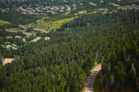 Colorado Springs, Colorado USA  Broadmoor Area Stok Fotoğraf - 13242761