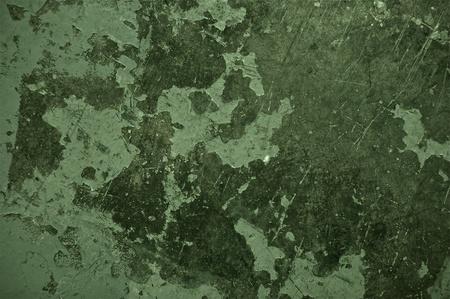 Green Texture. Damaged Concrete Texture - Background.