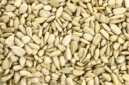 Sunflower Meat Raw - Organic Food. Natural Sunflower Meat Raw Stock Photo