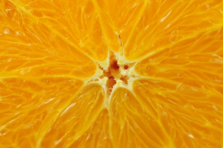 Sliced Orange Fruit  Fresh Orange Background photo