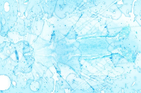 Icy Blue Background  Artistic Abstract Comosition  Horizontal Icy Blue Background  Фото со стока