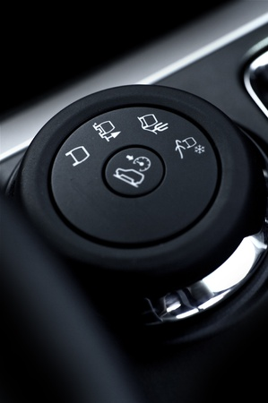 Driving Conditions Switcher. Dry Drive, Snow Drive, Sand Drive. Sport Utility Vehicle Traction Control Switch - Close Out. Stock Photo - 13240754