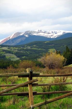 콜로라도 풍경 - 록키 산맥 콜로라도 미국 스톡 콘텐츠