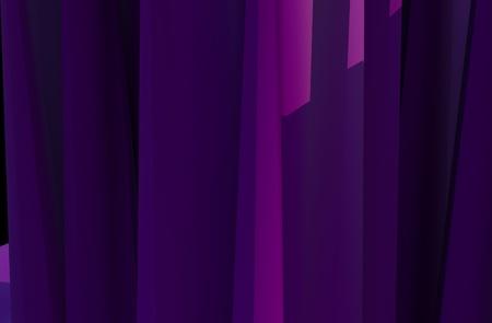 Violet Abstract Background  3D Shapes - 3D Render Background Illustration 版權商用圖片