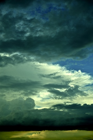 Stormy Sky - Dramatic Sky Colors  Stormy Day  Beauty of Nature
