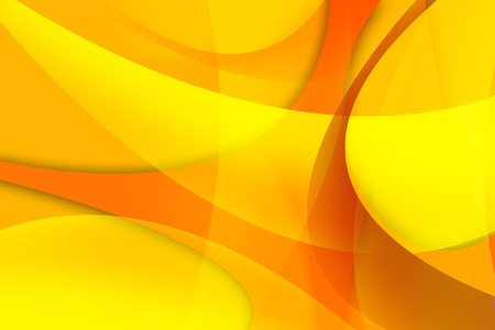 Abstract Orange Wavy Background  Raster Background Illustrations