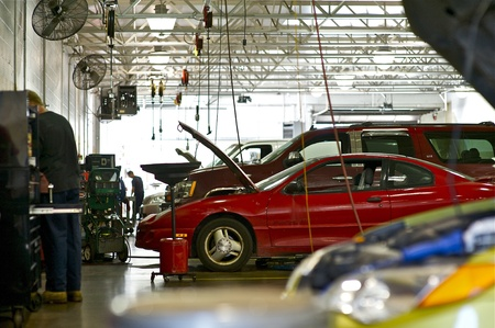 Vehicles Repair  Authorized Car Service  Auto Service Workers