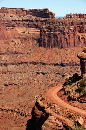 canyonland: Canyonland State Park near Moab, Utah. The Power of Nature. Vertical Photo