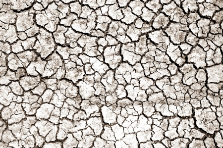 Dry Soil - Extreme Drought / Nature Photo Background. Nature Photo Collection. Cracked Soil Stock Photo - 13964266