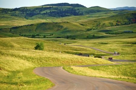 south dakota: South Dakota Landscape - Custer Park near Rapid City. South Dakota Black HIlls. Nature Photo Collection.