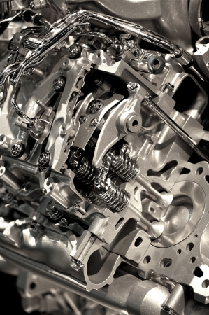 explosion engine: Metallic Modern Vehicle Engine Photo Background - Vertical Photo. Engine Closeup. Technology Photo Collection