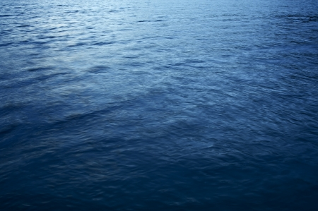 blue backgrounds: Lake Blue Water - Lake Crescent Dark Blue Water Photo Background. Stock Photo