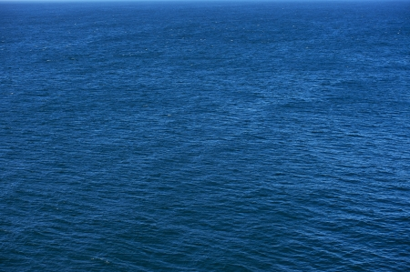 Blue Ocean Photo Background. Calm Ocean Waters. Nature Photo Collection. Stockfoto