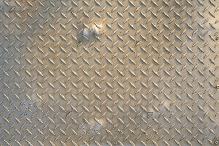 Industrial Metal Plate Background - Metal Plate Pattern Stock Photo - 14700868