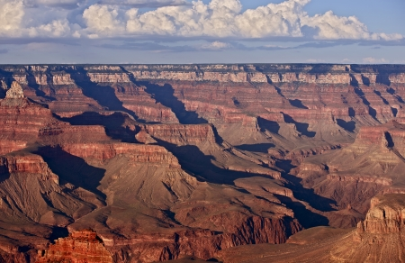 canyons: Scenic Grand Canyon - World Famous and Largest Canyon. Arizona, USA. Nature Photography Collection.