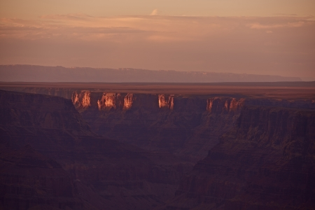 Seven Natural Wonders of the World - Grand Canyon, Arizona, USA. Grand Canyon Sunset. Arizona Nature Photo Collection.  photo