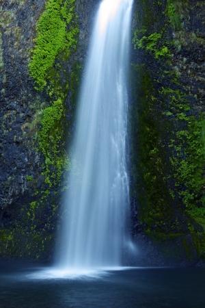 Oregon Waterfall. Waterfalls Photo Collection. Oregon, USA. Stock Photo